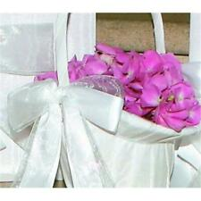 Ivy Lane Design 4Ut Grace Flower Girl Basket - White