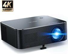 "Projector, APEMAN 6000 Lumens Full HD 4K Native 1080P Video Projector, 300""..."