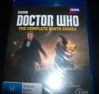Doctor Who The Complete Ninth Season 9 (Peter Capaldi) (Aust Reg B) Bluray - NEW