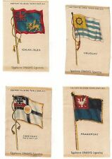 New listing 4 - Egyptienne Straights Cigarette National Flag Series Inserts Early 1910'S