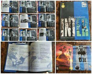Libro calcio⚽️football club INTER 90 anni album Commemorativo calciatori rivista