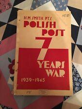 H.M. Smith, Polish Post, Seven Years War, 1939-1945, Bristol Stamp Company
