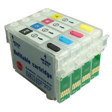 NON-OEM Refillable Ink Cartridge kit for EPSON T12 TX129 TX235 TX320F T1331-1334