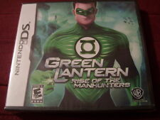 GREEN LANTERN:  RISE OF THE MANHUNTERS DS FACTORY SEALED!!!  C@@L!!!