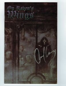 On Raven's Wings #1 VF/NM boneyard press signed by Gerard Way (umbrella academy)