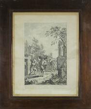 J3-035. PRIX AU TRAVAIL. ENREGISTRÉES SUR PAPIER. GIUSEPPE ZOCCHI. XVIII SIÈCLE.