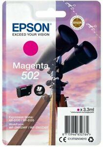 Genuine Epson Binoculars Pack 502 Ink Magenta T02W34010