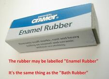 Cramer Bath Rubber | Removes Scuffs, Marks, Rust On Enamel and Ceramic