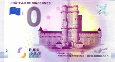 94 VINCENNES Château, 2018, Billet 0 € Souvenir