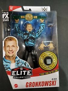 ROB GRONKOWSKI WWE Elite Collection Action Figure Series 82 Certified Authentic