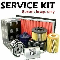 Fits Citroen C3 1.1 1.4 Petrol 04-09 Oil, Air & Cabin Filter Service Kit P2b