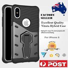 100% Original iPhone 8  Kickstand 360 Rotation Black  Heavy Duty Cover