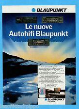 QUATTROR983-PUBBLICITA'/ADVERTISING-1983- BLAUPUNKT - BOSTON/MELBOURNE/PARIS