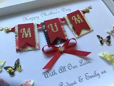 Handmade Personalised Boxed Birthday Card Mum Nan Daughter Wife 18 21 30 40 50