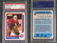 PSA 9 Mint Patrick Roy Rookie OPC #53 Graded Hockey Sports Card O-Pee-Chee RC