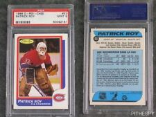 PSA 9 Mint Patrick Roy Rookie OPC #53 Graded Hockey Sports Card O-Pee-Chee RC