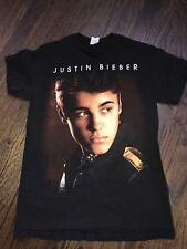 Justin Bieber Believe Tour 2012/2013 Black Small Unisex T-Shirt