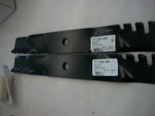 STENS SET OF 2 302-256 Toothed Blade / John Deere M113518