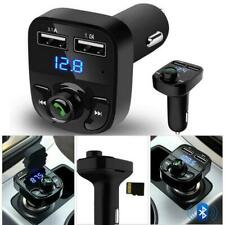 Wireless Bluetooth Handsfree Car Kit FM Transmitter MP3 Player Dual-USB-Charger