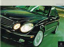 2004 Mercedes Brochure: AMG,C,SL,CLK,SLK,E,CL,M,G,E55,S55,G55,G500,ML500,CL600,