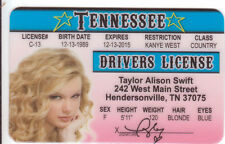 T Allison Swift of Hendersonville Tennessee TN  Drivers License