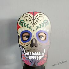 Halloween Party Day of The Dead Face Mask Sugar Skull Fancy Dress Costume Access