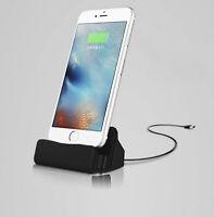 Station D'Accueil Chargeur de Câble Pour Apple IPHONE Dock Noir