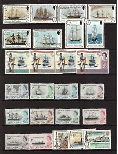 Ships/Boats mint hinged stamps selection