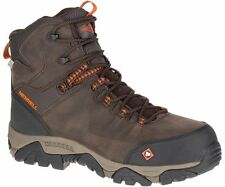 Merrell Newest Men's J15735 Phaserbou Composite Toe Waterproof Safety Work Boots