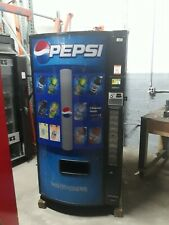 Dixie Narco 501-E Bottles/Cans Soda Vending Machine Credit Card Capable ! Sale!