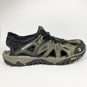 Merrell All Out Blaze Sieve Men's Water Sandal Hiking Shoes Vibram Outsole Sz 9