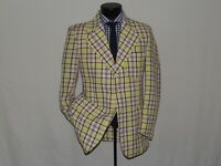 NWT Aristrocrat men's Vintage 1970's polyester Disco jacket coat 42 R NEW.