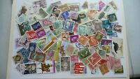 1992           lot 100 timbres seconds plusieurs pays