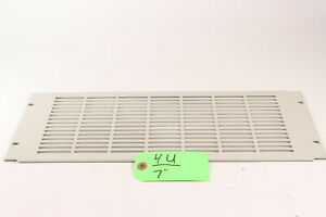 """(Lot of 4) 4U Rack Vent covers for 19"""" Racks * White used"""