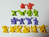 Monsters in My Pocket Lot of 16 Action Figures Matchbox Vintage 1990