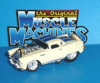 2007 ORIGINAL MUSCLE MACHINES '56 Ford Thunderbird Red Real Riders 1956 T-Bird