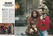 Coupure de presse Clipping 1994 Jean-Claude Van damme  (4 pages)