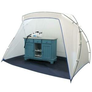 "Collapsible Spray Tent Liquid-resistant Base Studio, 81"" W x 53"" H x 59"" D"