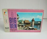 VTG 1968 NEW Sealed Milton Bradley MB Big Ben Jigsaw Puzzle 12 A Day to Remember