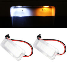2x Replacement License Number Plate LED Light For Ford Mondeo Mk4 Mk5 2007-2017
