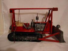 Raupenfahrzeug,Traktor,Schieber 35 cm Nostalgie Blechmodell Metall,Neu