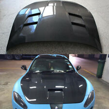Engine Hood Cover Bonnet Lid For Maserati Gran Turismo 2008-2013 Carbon Fiber