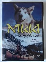 Nikki - Wild Dog of the North ( DVD, 2000 ) FACTORY SEALED!!!
