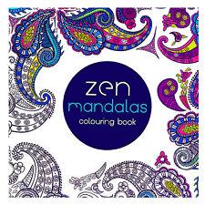 English  Coloring Book Fantasy Zen Mandalas Painting Books Graffiti Gifts
