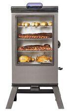 """New 1,200 Watt Electric BBQ Meat Smoker 4 Racks Cooker 40"""" Bluetooth"""