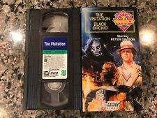 Doctor Who The Visitation Black Orchid 2tape Vhs! 1982 Episodes! Torchwood