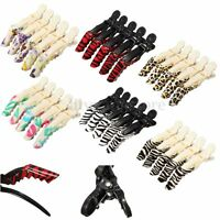5Pcs Colorful Crocodile Hairdressing Sectioning Clamp Hair Salon Styling Clip