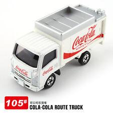 RARE TAKARA TOMICA 105 ISUZU COCA COLA EVENT CAR (WHITE TRUCK) DIECAST 742135