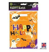 20 x HALLOWEEN PARTY BAGS Spooky Trick Or Treat Sweet Candy Loot Bag Favour UK
