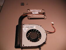 Lenovo G570 Used Fan - Heatsink Assembly & Screws (CLEANED) TESTED DC280009BS0